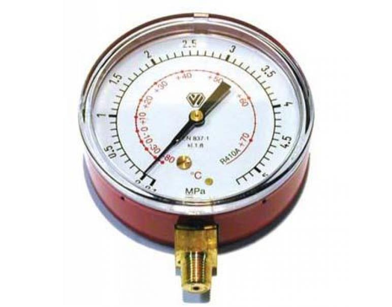 """1//35 GAS R410A CONDIZIONAMENTO MANOMETRO Ø 80 ALTA PRESSIONE CLASSE 1 1//8/"""" NPT"""